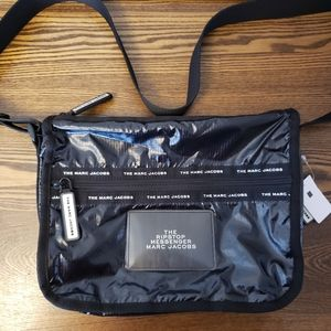 Marc Jacobs The Ripstop Messanger Bag - Black